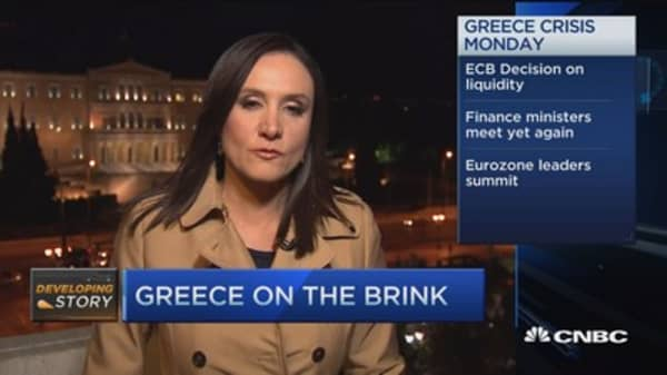 3 key events for Greece on Monday