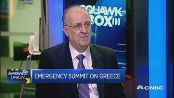 History points to Greek deal: Economist