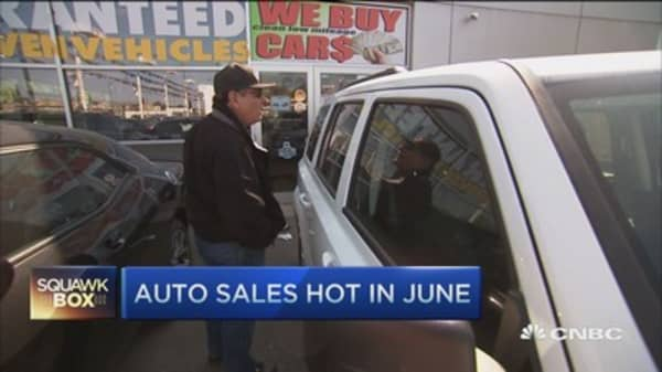 What's fueling record auto sales?