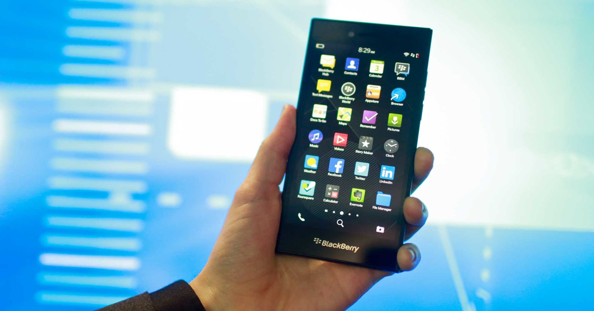 BlackBerry posts loss of 5 cents a share vs. 3 cent loss ...