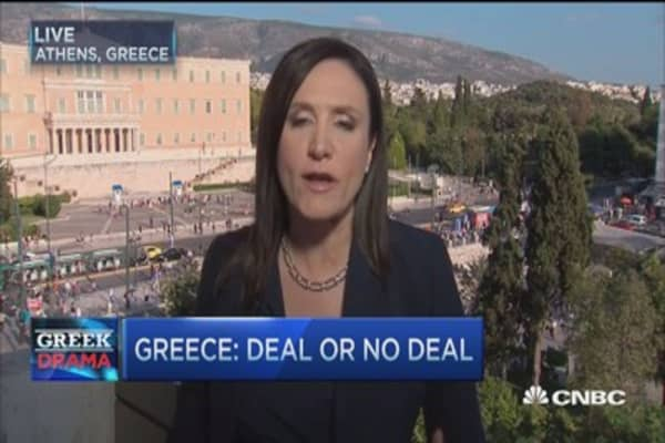 What is next in Greece?