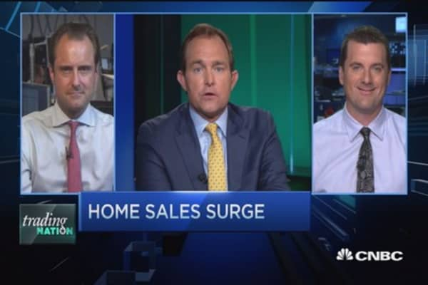 The homebuilder trade