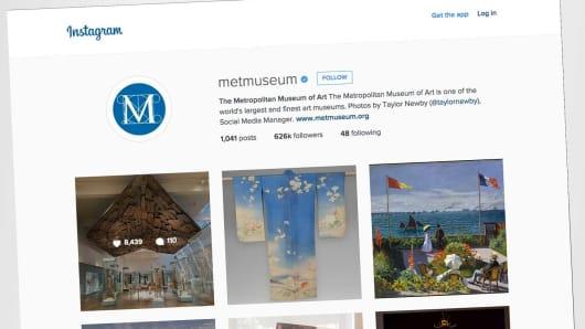 Metropolitan Museum Instagram