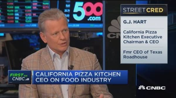 CPK CEO: Providing best quality food
