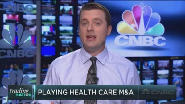 Trading the health care M&A bonanza