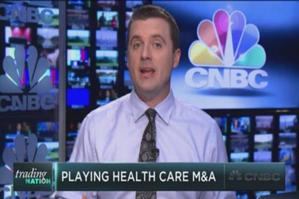 Trading the health care M&A bonanza