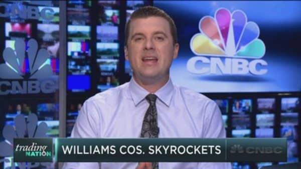 Trading a skyrocketing stock