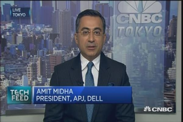 Dell to expand sales force in Asia-Pacific, Japan
