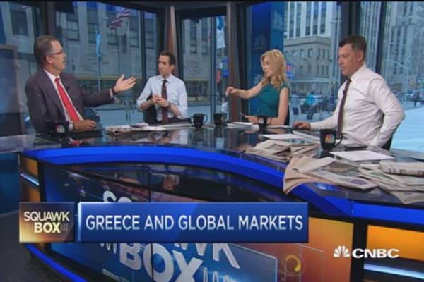 PE titan on Greece and global markets