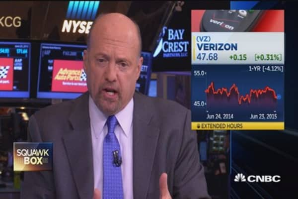 Cramer's stocks to watch: SONC, VZ & more