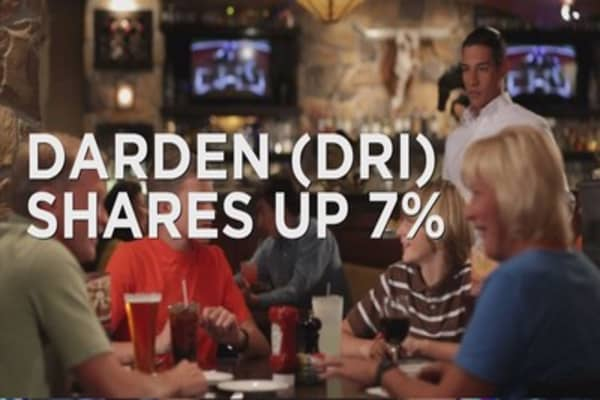Chow down on Darden