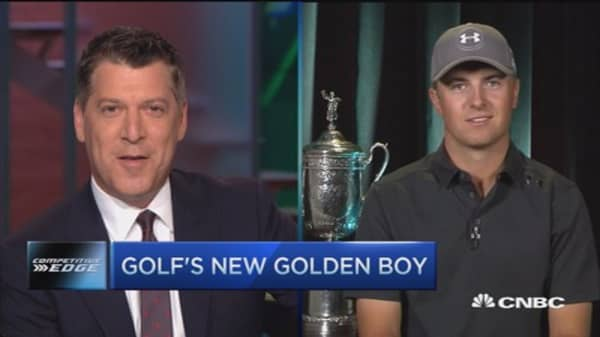 Golf's new golden boy: Jordan Spieth