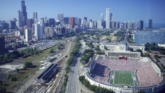 Soldier Field, Chicago.