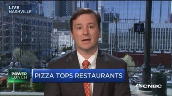 Papa John's leading pizza technology?