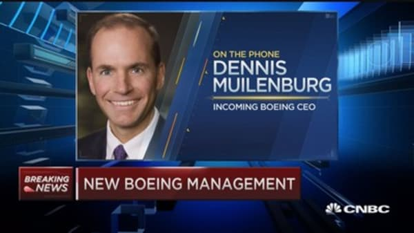 Boeing leadership change 'generational shift': McNerney