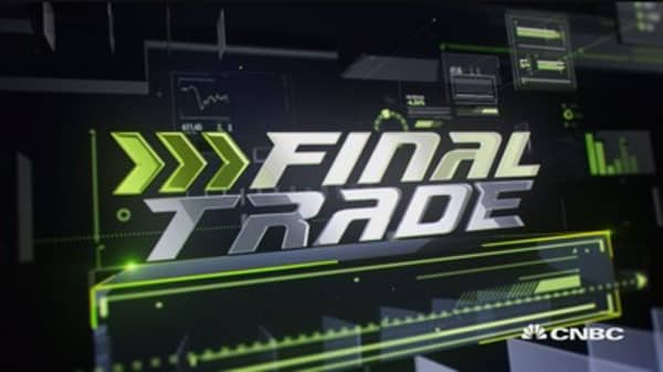 Fast Money Final Trade: WEN, IBB, BBRY & CAG