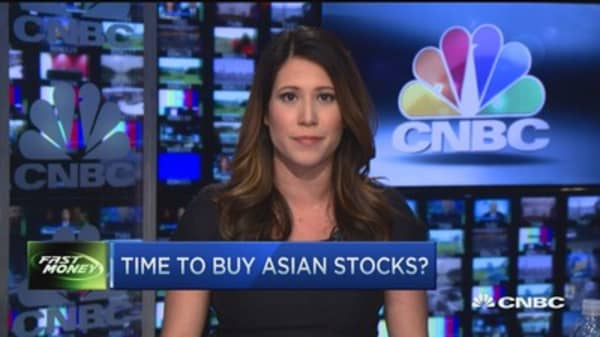 Time to buy Asian stocks?