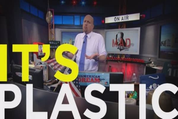 Cramer: This Is the most artificial move I've seen in this market
