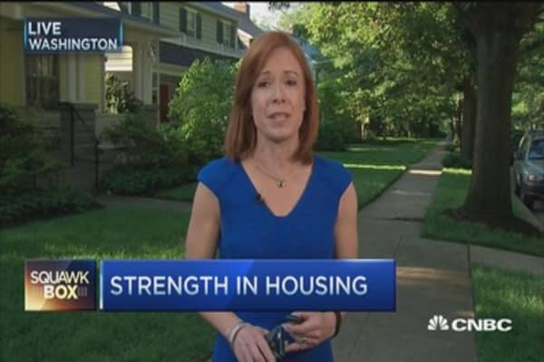 Housing market shows signs of strength