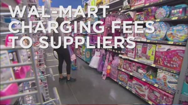 Wal Mart charging suppliers fees