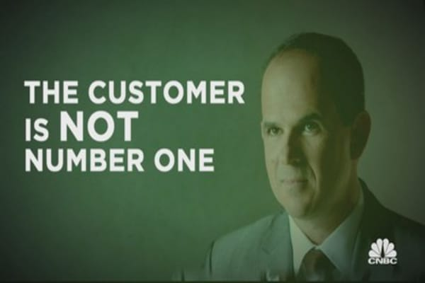 Biz guru Lemonis says the customer is not number one