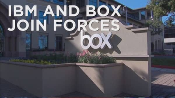 IBM and Box partner up