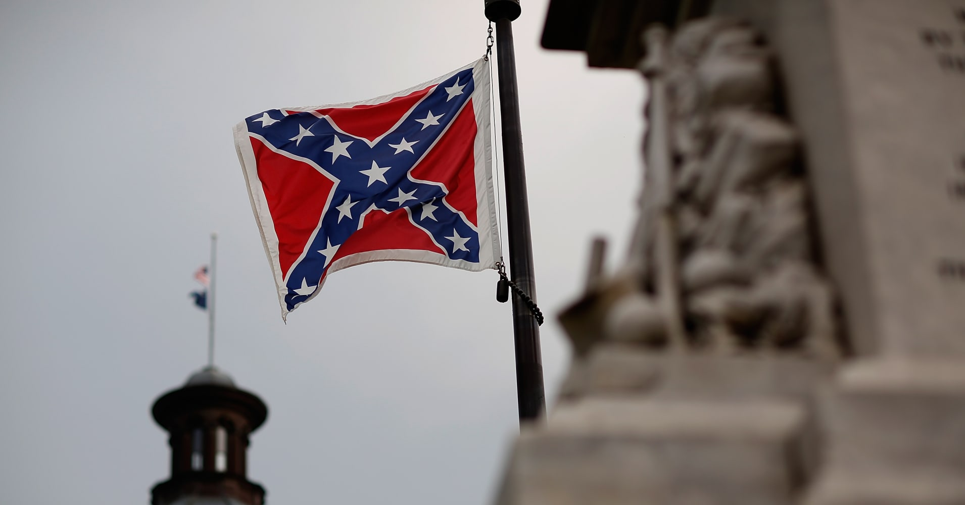 an analysis of the confederate flag of south carolina Analysis 5 key facts on the racist history of the confederate flag 0 + the confederate battle flag became a point of contention after photographs emerged south.