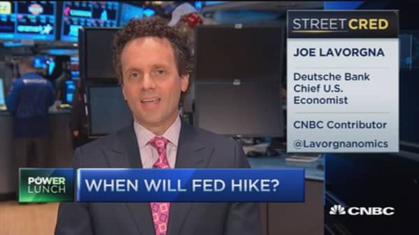 Waiting on the Fed...