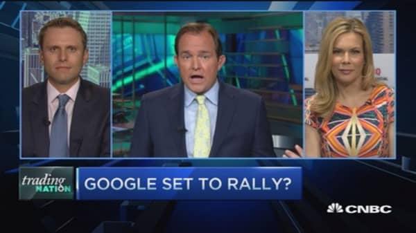 Trading Nation: Google set to rally?