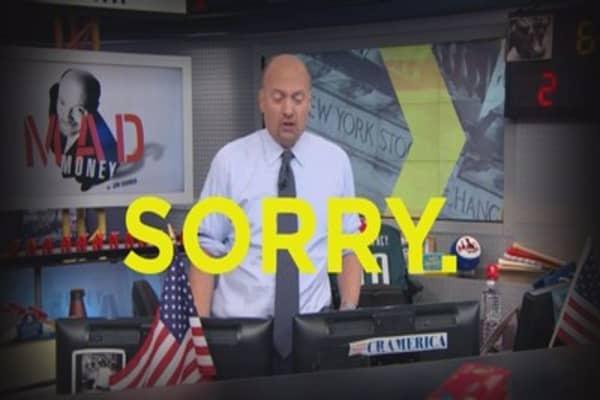 Cramer: Icahn has to shift his focus