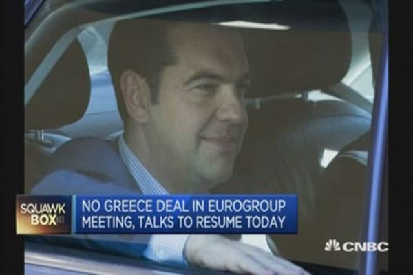 Greece debt talks hit stalemate again
