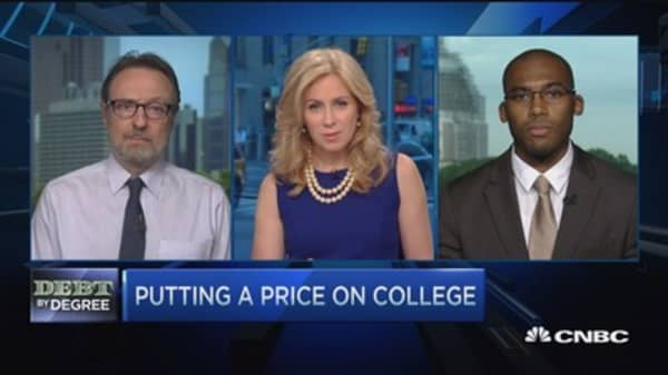 Is the cost of college worth the price?