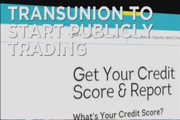 Transunion goes public