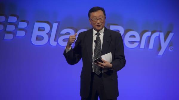 John Chen, chief executive officer of BlackBerry Ltd.