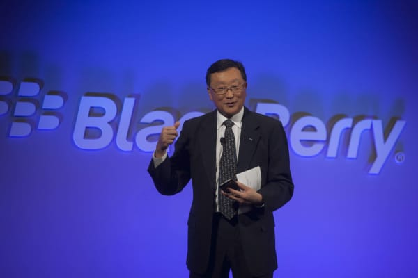John Chen, chief executive officer of BlackBerry Ltd.