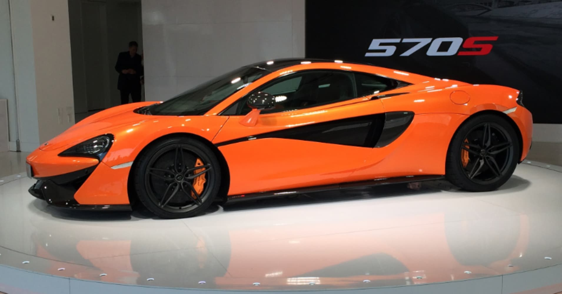 Mclaren Posts Record Sales Profit