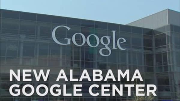 Google makes big bet on Alabama