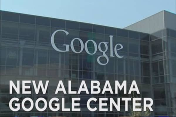 Google makes big bet on Alabama