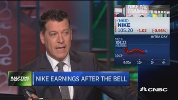Top trades for the 2nd half: Nike earnings
