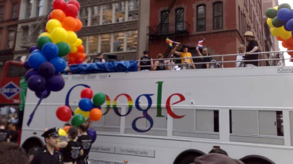 Corporations like Google have supported same-sex marriage for years.