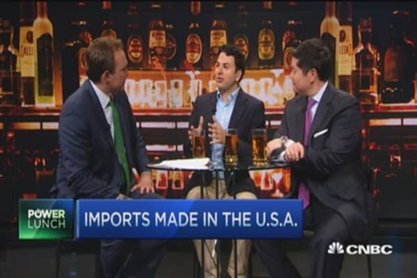 'Imports' brewed in the USA