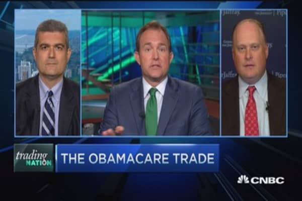 The Obamacare trade