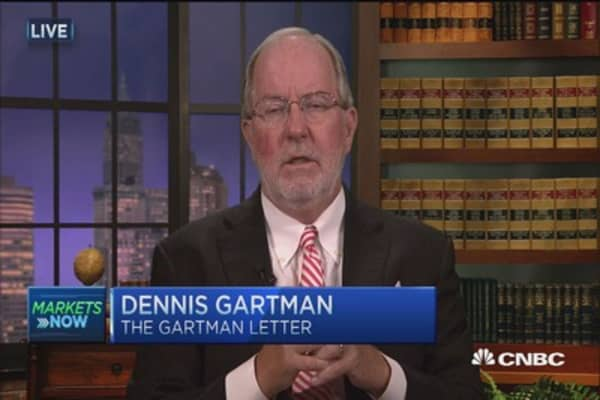 Gartman: Own European stocks, sell euro