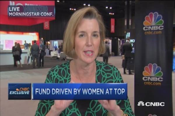 Fund driven by women at top