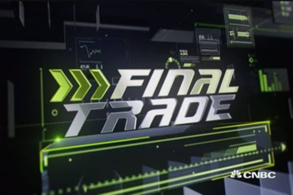 Fast Money Final Trade: NKE, INTC, XLE & HUM
