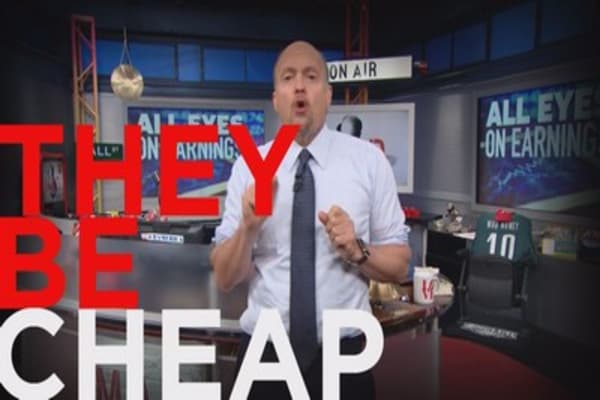 Cramer: These oil stocks look cheap
