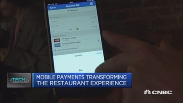 Mobile payments: Making you tip more?