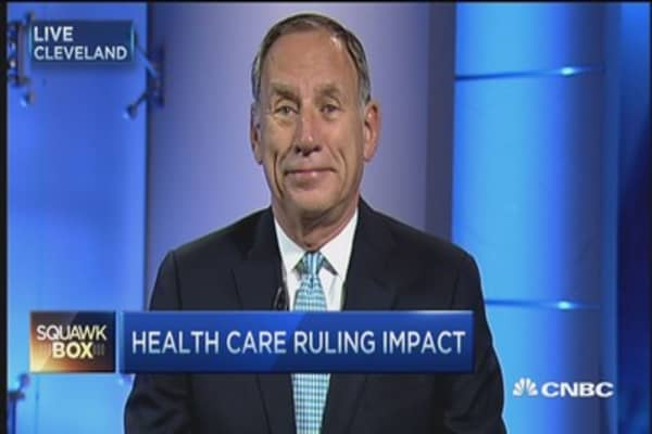 What health care ruling means for you: Dr. Toby Cosgrove