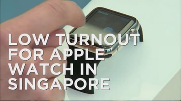 Singapore loses its taste for Apple
