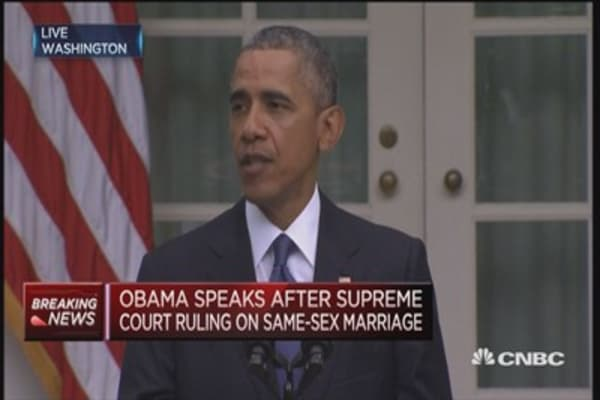 President Obama speaks out on same-sex marriage